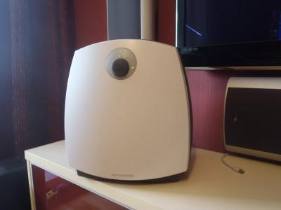 Фотография белого ионизатора воздуха