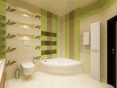 Фотография ванной комнаты с пластиковыми панелями