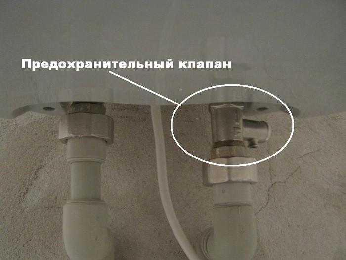 Фото сбросного клапана