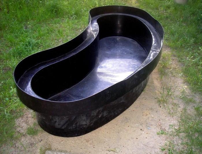 Снимок чаши для пруда