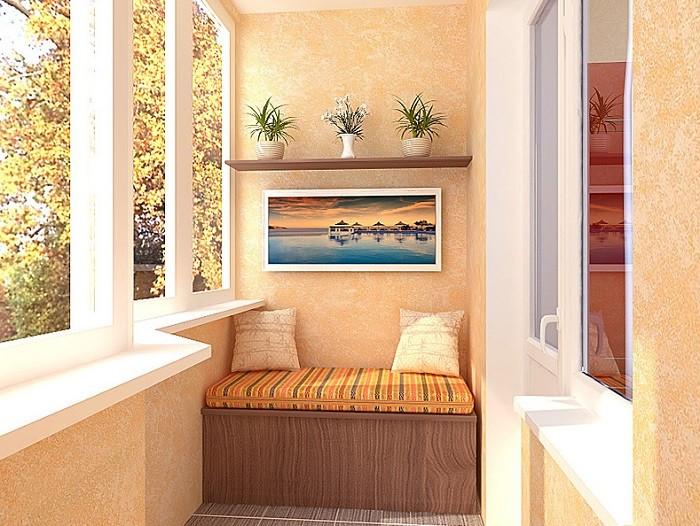 Фотография балкона