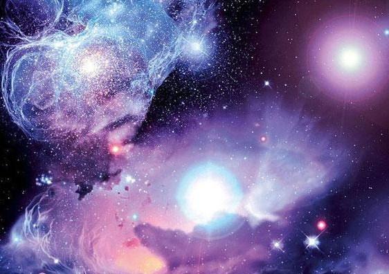 """На фото 3D потолок """"Звездное небо"""""""