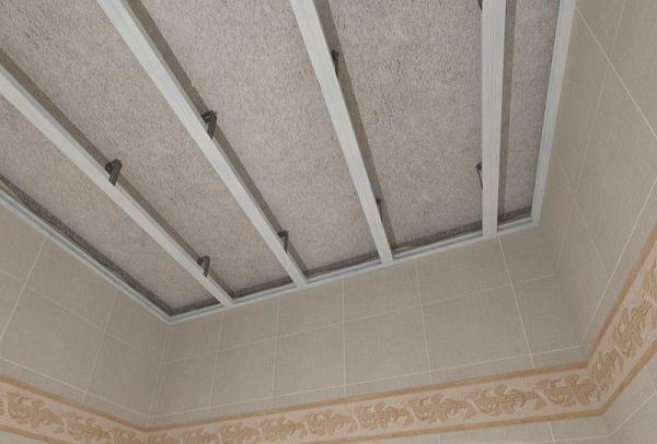 На фотографии потолок