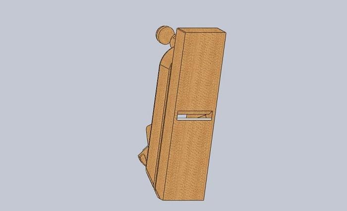Изображение ручного деревянного рубанка