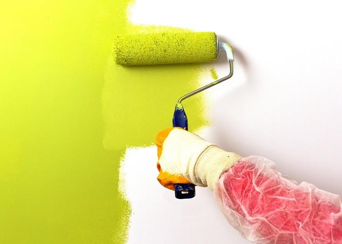 Фото покраски стен