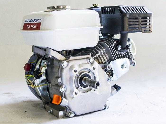 На снимке двигатель