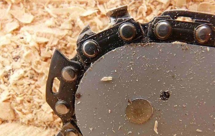 Фото цепи для бензопилы