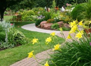Рабатка – необычное украшение садового участка своими руками