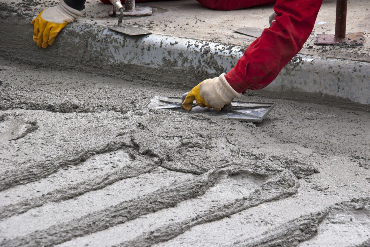 Как замешать бетон для фундамента