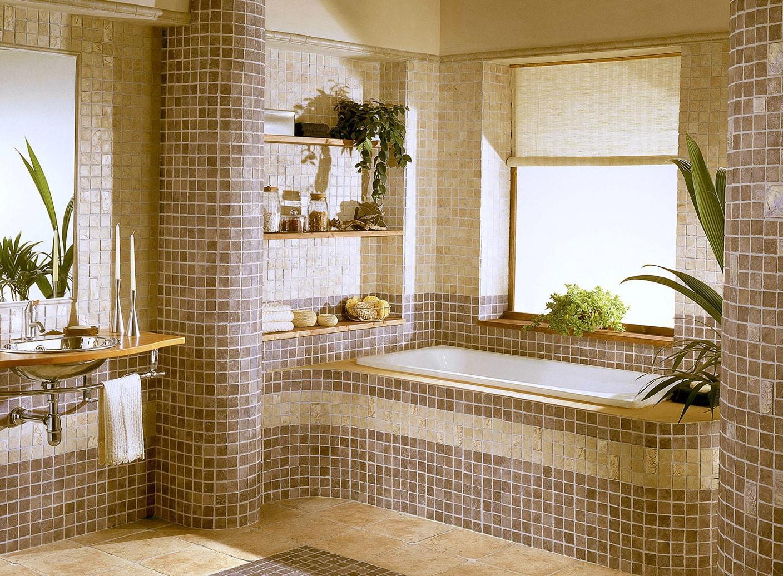 Плитка мозаика для ванной — мозаика, ее правильный выбор и расположение