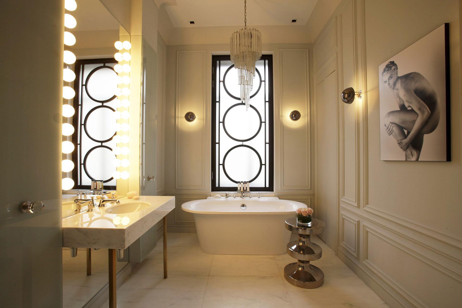 Как выбрать светильники в ванную комнату