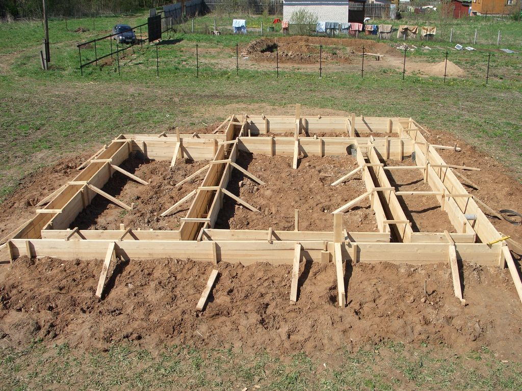 Фундамент для деревянного дома – выбираем и возводим своими руками!