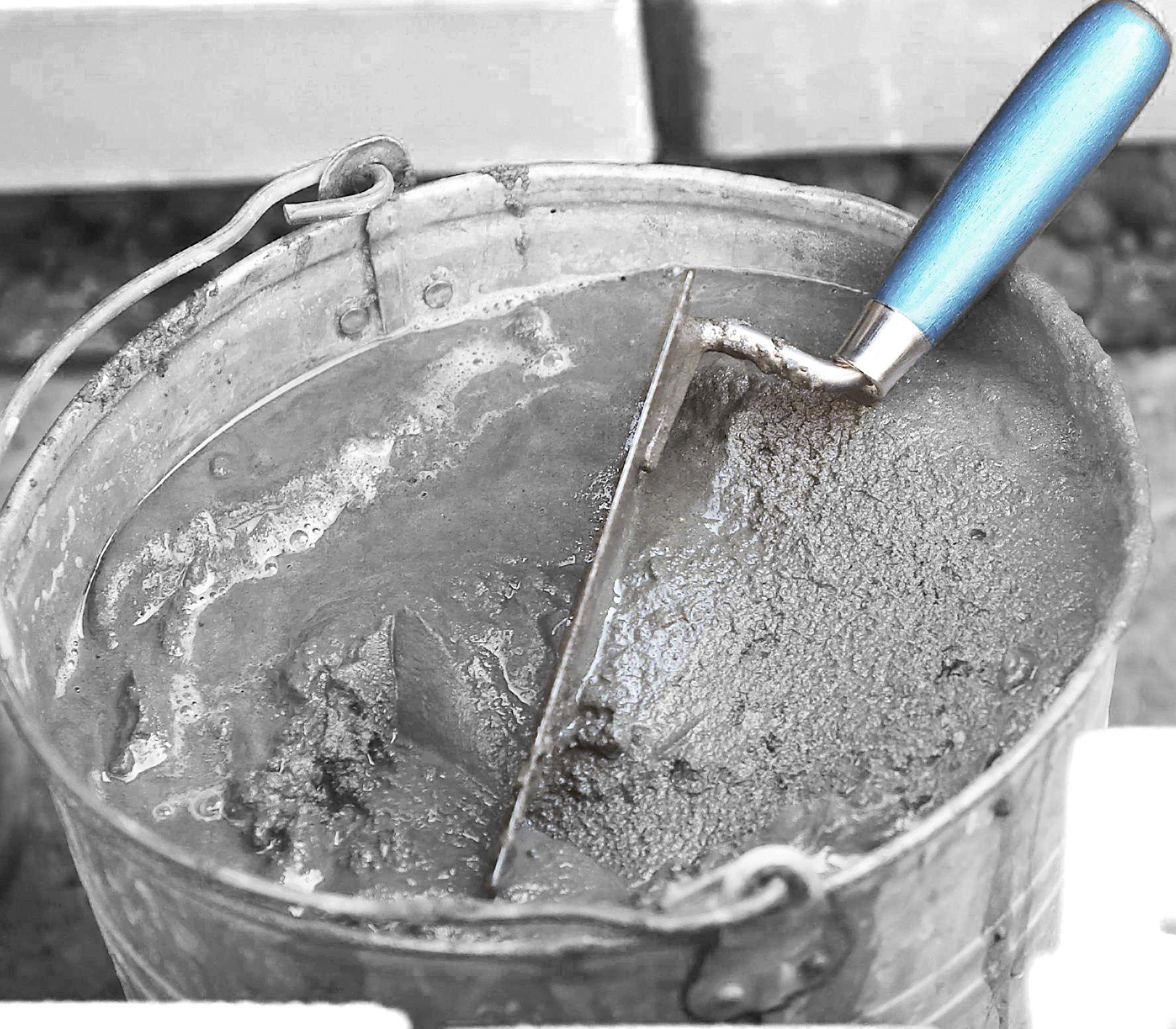 Цементно песчаная смесь для штукатурки и ее применение