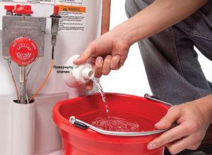 Как слить воду с бойлера и другие секреты ремонта электронагревателя