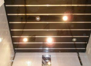 Реечный потолок своими руками — подробная инструкция