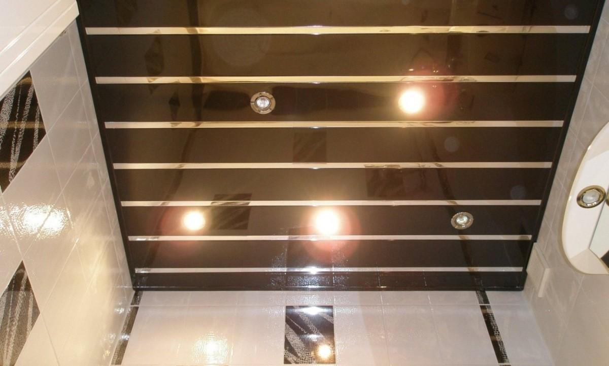 Как сделать реечный потолок в ванной фото 778