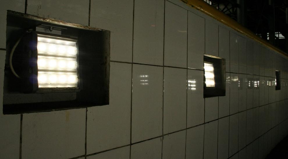 Светодиодные светильники в смотровой яме