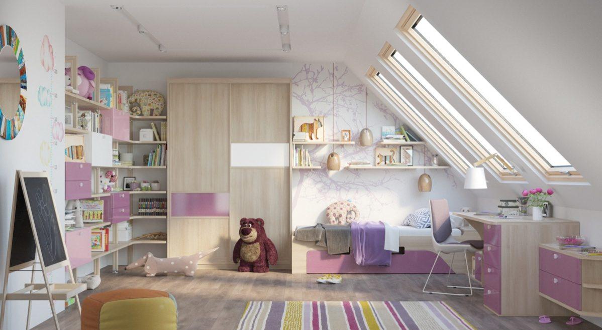 Как зонировать детскую комнату