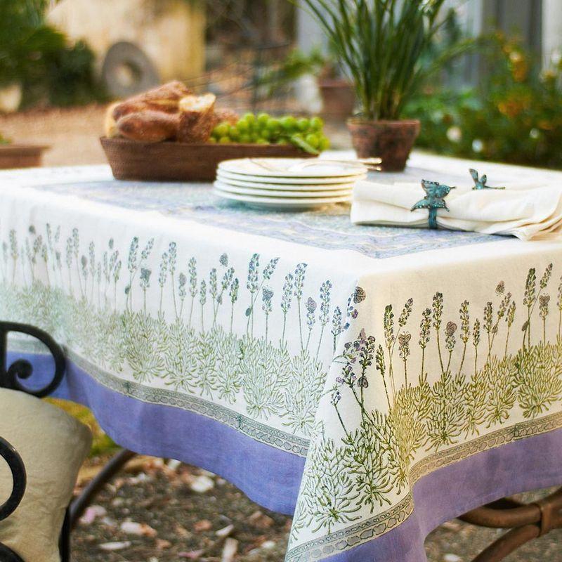 Текстиль для кухни в стиле прованс