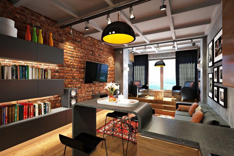 Как оформить квартиру в стиле лофт?