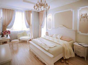 Солнечная французская спальня