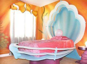 Комната для девочки -морской Принцессы