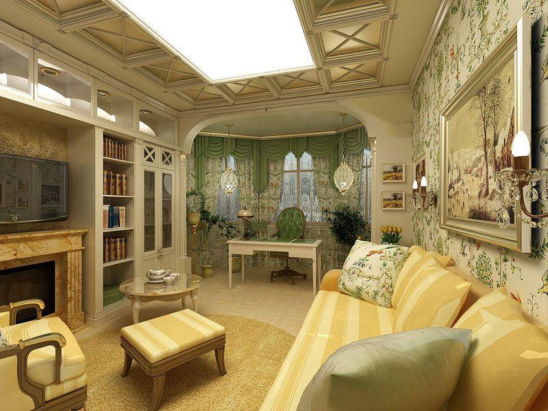 Квартира-студия во французском стиле