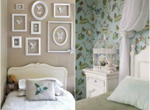 Необычное оформление детской комнаты во французском стиле