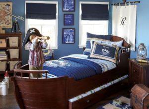 Пиратский стиль для комнаты мальчишек