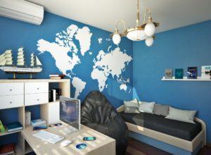 Так может выглядеть комната подростка