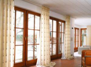 Удлинённые шторы