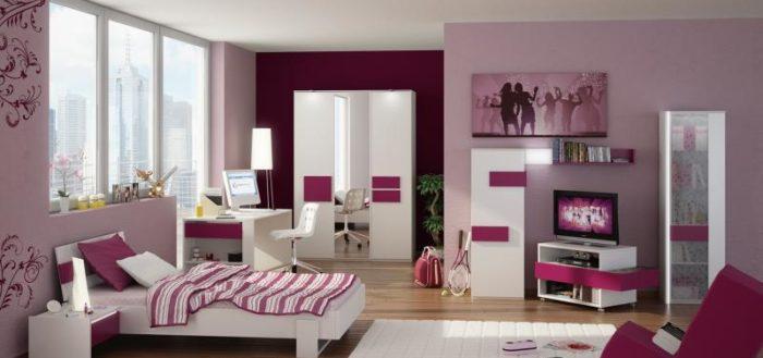 Дизайн-проект комнаты для девочки-подростка