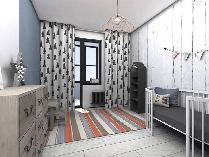 Дизайн комнаты девочки-подростка в современном стиле