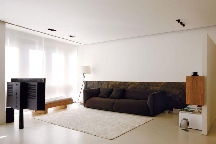 Малогабаритная квартира в стиле минимализм