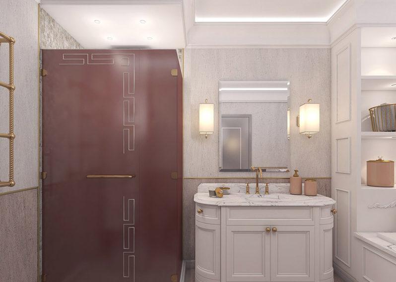 Супермодное стекло – материал 21 века для ванной