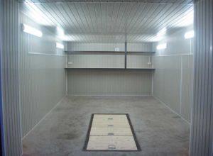 Отделка гаража вагонкой