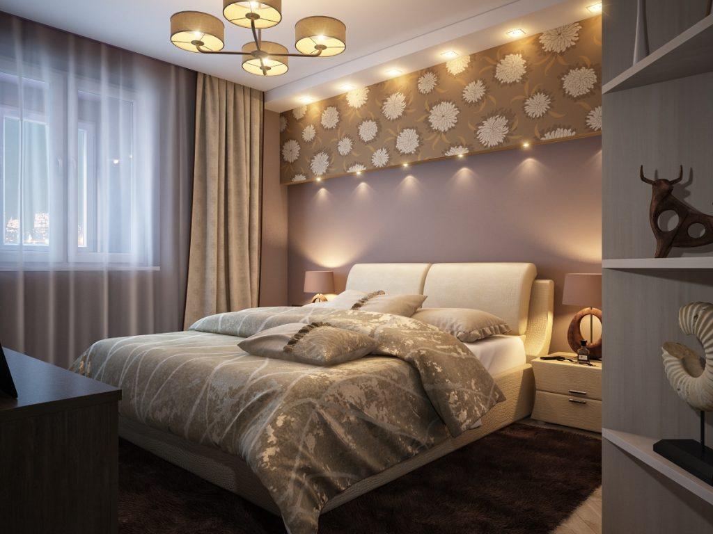 Оформляем маленькую спальню — секреты и хитрости