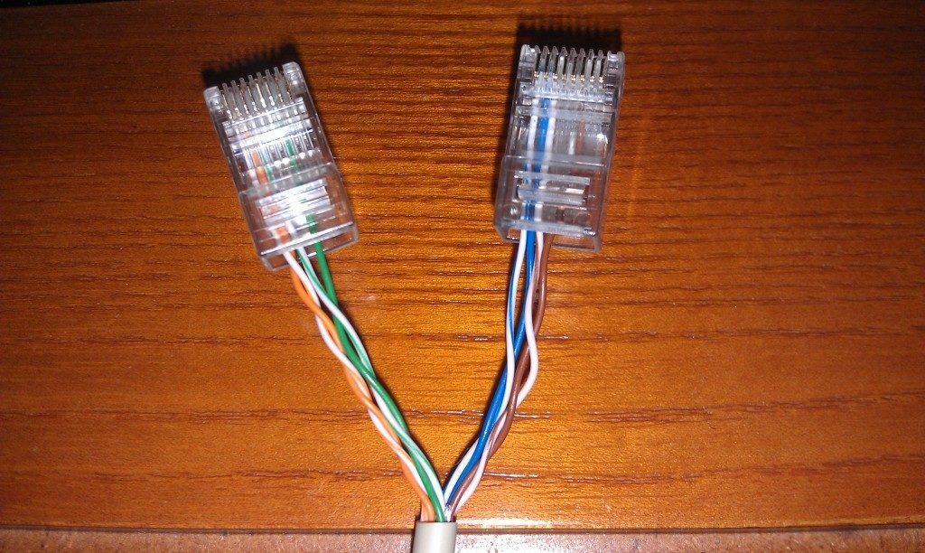Подключение двух компьютеров