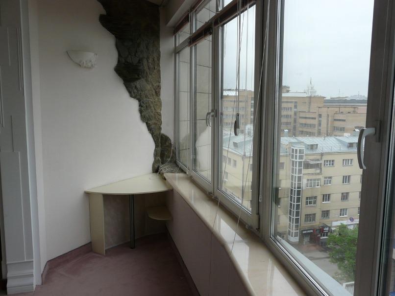 Фото отделки балконов и лоджий фото