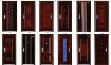 Популярные модели металлических дверей