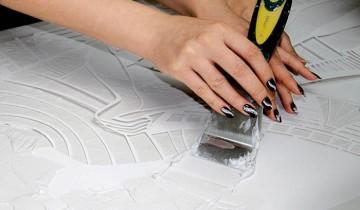 Декорируем поверхности: шпаклевку можно украсить