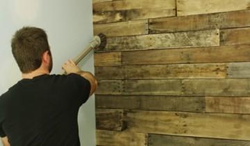 Обработка деревянных панелей