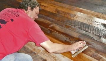Отделка деревянных панелей в интерьере