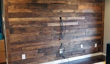 Внутренняя отделка деревянной стены
