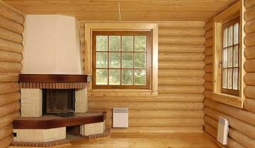 Фото отделки блок-хаусом внутри дома, otdelka-expert.ru
