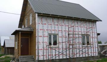 Металлическая обрешетка для отделки дома сайдингом, profil-stroy.ru