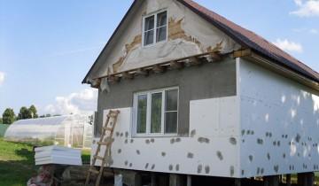 Утепления фасада плитами из пенополистирола, budsam.in.ua