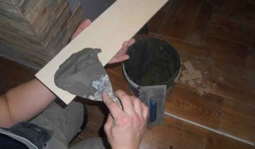 Отделка камина декоративным камнем, proremont43.ru