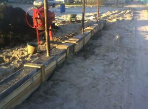 Изображение заливки фундамента бетоном , mainstro.ru