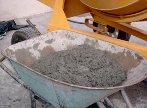 Изображение бетонного раствора для фундамента, cementiruem.ru